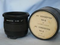* CASED * MC Arsenal K-6 2x Converter for Pentacon 6 Kiev 60 Kiev 6 Kiev 88CM - MINT 	 £34.99